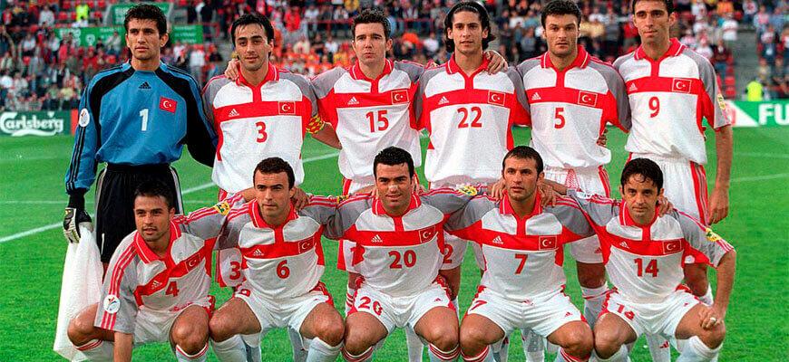 Сборная Турции на чемпионате Европы 2000 года