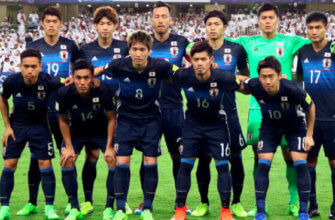 Сборная Японии на чемпионате мира 2018 года