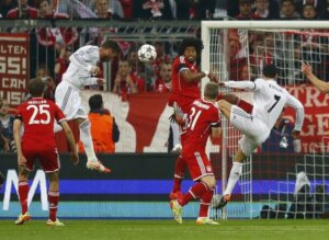 Серхио Рамос: первый гол