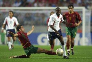 США - Португалия (2002): эпизод матча