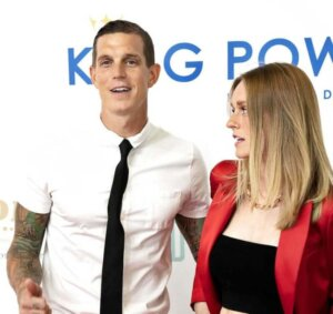 Аггер с женой Софи