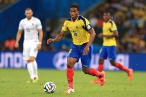 Антонио Валенсия - капитан сборной Эквадора