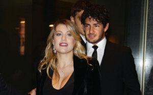Барбара Берлускони и Алешандре Пато
