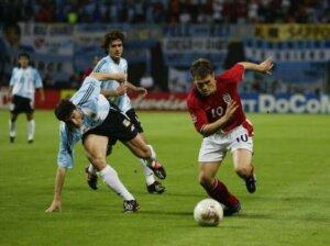 ЧМ-2002: Англия - Аргентина