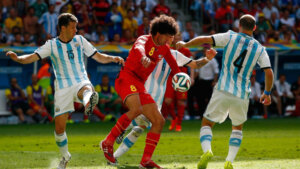 ЧМ-2014: Бельгия - Аргентина