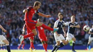 ЧМ-2018: отборочный матч Шотландия - Англия