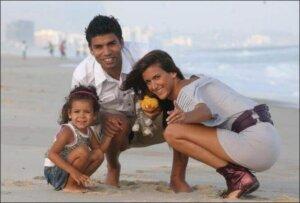 Эдуардо да Силва: семья