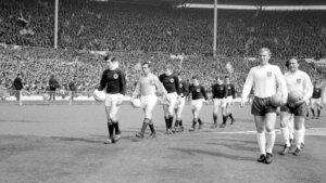 Евро-1968: отборочный матч Англия - Шотландия