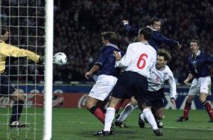 Евро-2000: Стыковой матч Англия - Шотландия