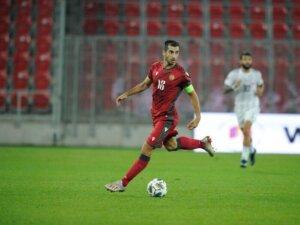 Футболист Генрих Мхитарян