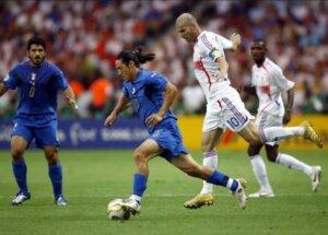 Футболист сборной Италии Мауро Каморанези