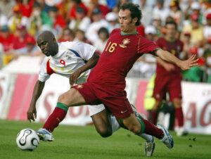 Футболист сборной Португалии Рикарду Карвалью