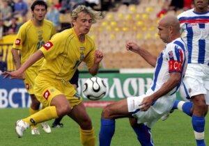 Футболист сборной Украины Максим Калиниченко