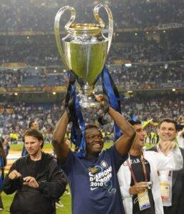 Победитель Лиги чемпионов Салли Мунтари