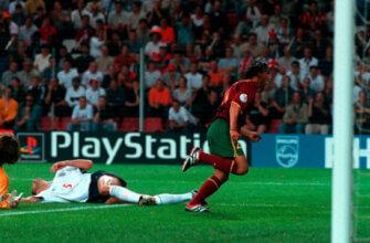 Португалия - Англия на Евро-2000