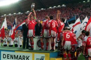 Сборная Дании - чемпион Европы-1992
