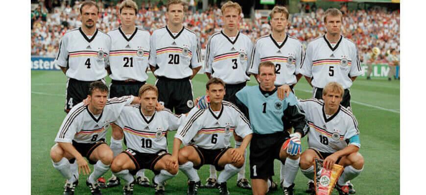 Сборная Германии на чемпионате мира 1998 года