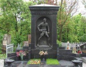 Сергей Перхун: могила