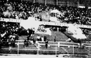 Стадион в Лиме, 1964 год