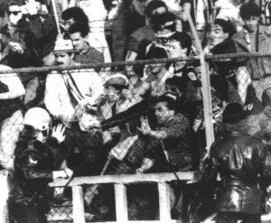 """Стадион """"Замалек"""": давка, 1974 год"""