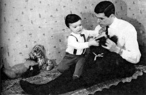 Воронин с сыном