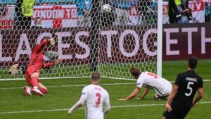 Англия - Германия: гол Кейна