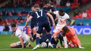 Евро-2020: Англия - Шотландия