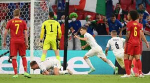 Евро-2020: Италия - Бельгия