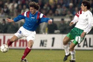 Футболист сборной Франции Давид Жинола