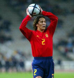 Футболист сборной Испании Мичел Сальгадо
