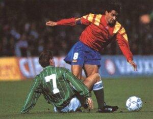 Футболист сборной Испании Мигель Мичел