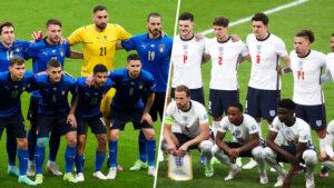 Италия и Англия перед матчем