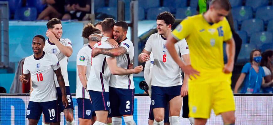 Сборная Англии на чемпионате Европы 2020 (2021) года