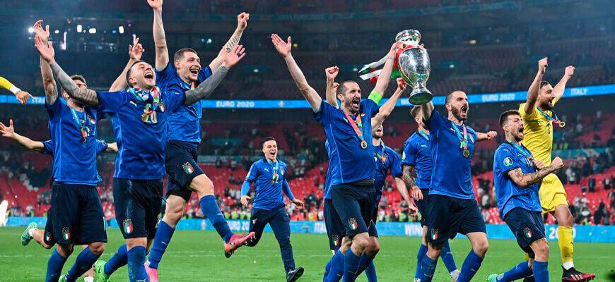 Сборная Италии на чемпионате Европы 2020 (2021) года