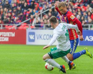 Алексей Березуцкий в ЦСКА