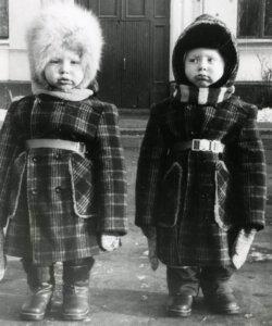 Братья Березуцкие: детское фото