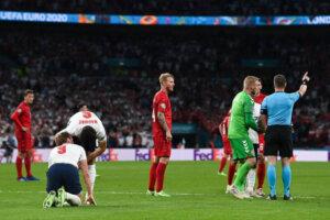 Евро-2020: Дания - Англия