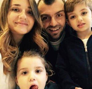 Горан Пандев: семья