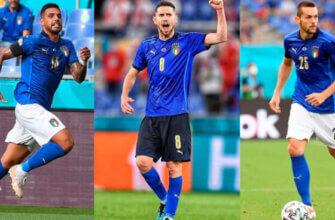 Лучшие ориунди сборной Италии