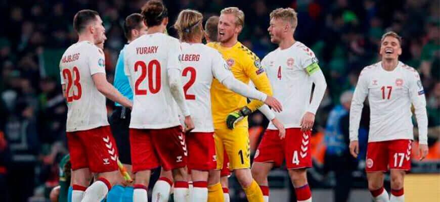 Сборная Дании на чемпионате Европы 2020 (2021) года