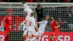 Сборная Дании - сборная Швейцарии 3:3