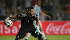 Вратарь сборной Аргентины Серхио Ромеро
