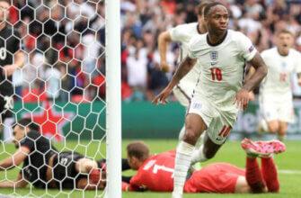 Англия - Германия на Евро-2020 (2021)