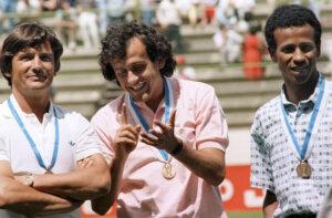 Бронзовый призёр ЧМ-1986 Анри Мишель