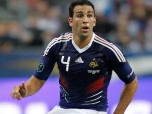 Футболист сборной Франции Адиль Рами