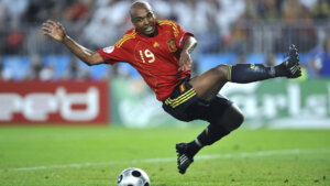 Футболист сборной Испании Маркос Сенна